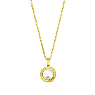 Chopard Happy Diamonds Icons 18ct Yellow Gold Pendant - Product number 8031231