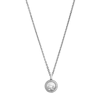 Chopard Happy Diamonds Icons 18ct White Gold Pendant - Product number 8031266