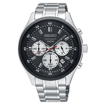 Seiko Men's Stainless Steel Chronograph Bracelet Watch - Product number 8032440