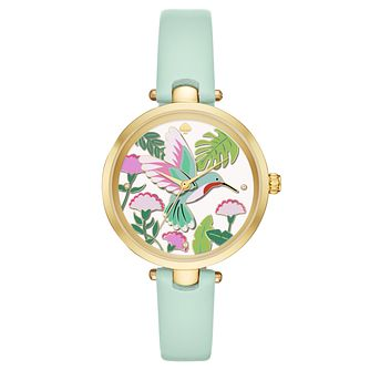 Kate Spade Yellow Gold tone Hummingbird Strap Watch - Product number 8037965