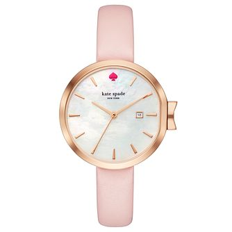 Kate Spade Rose Gold Tone Park Row Strap Watch - Product number 8039127