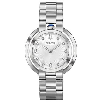 Bulova Ladies' Rubaiyat Stainless Steel Bracelet Watch - Product number 8043515