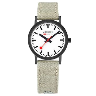 Mondaine SBB Classic Ladies' Fabric Strap Watch - Product number 8043752