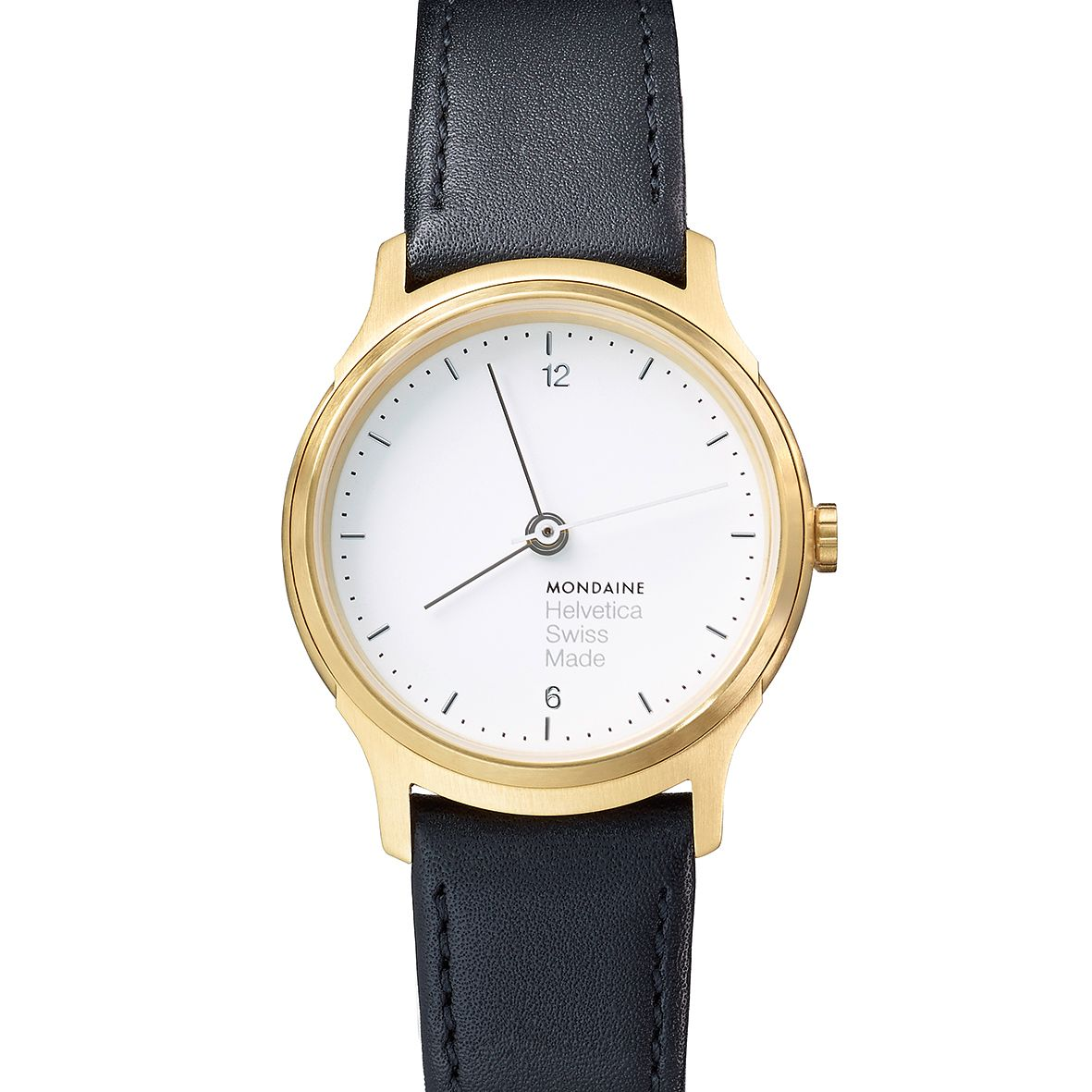 Mondaine Helvetica No1 Light Ladies' Leather Strap Watch - Product number 8043787