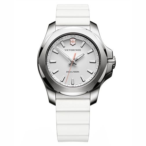 Victorinox I.N.O.X. V Ladies' Rubber Strap Watch - Product number 8044090