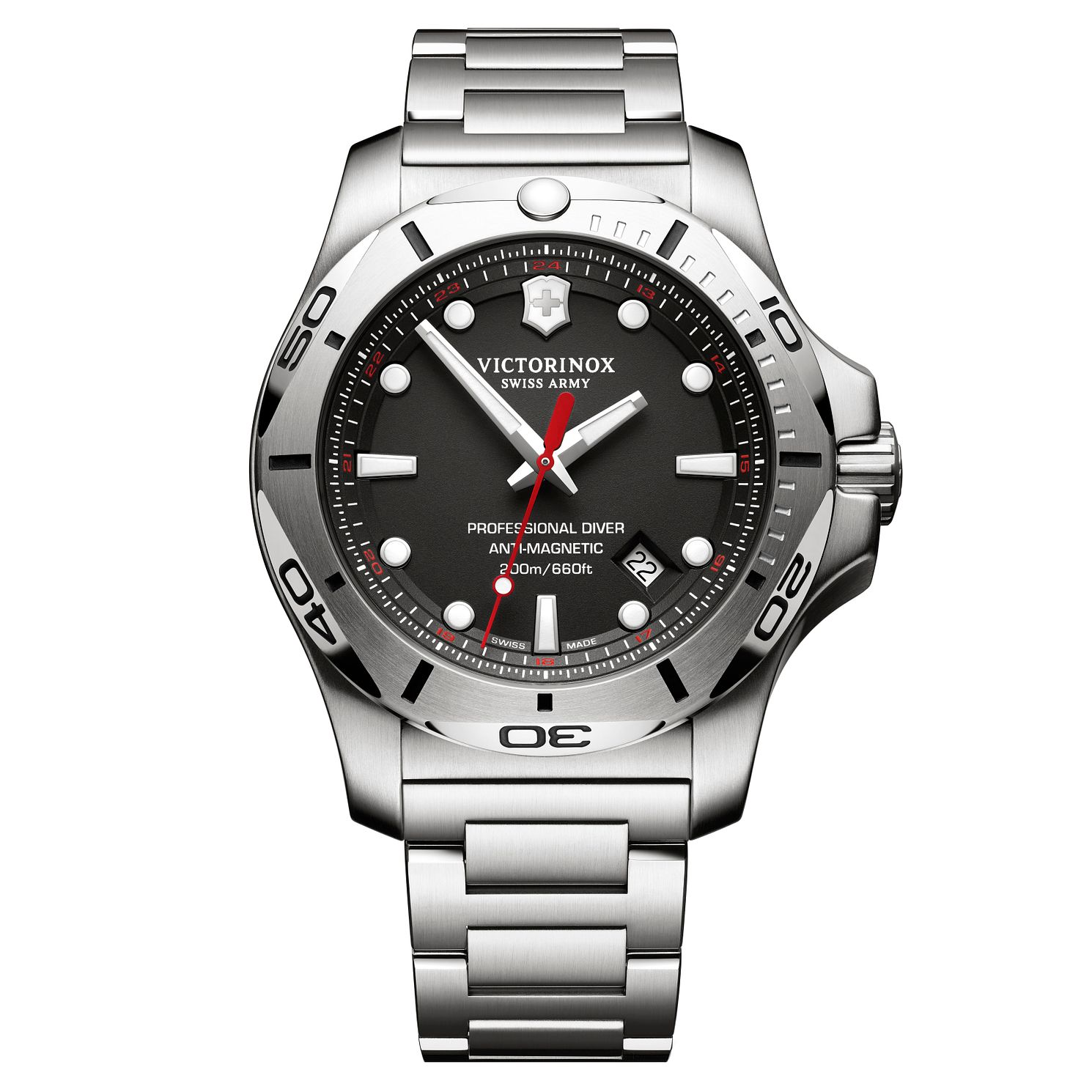 Victorinox Men's Professional Diver Steel Bracelet Watch - Product number 8044198