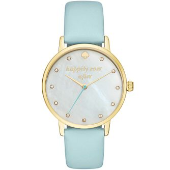 Kate Spade Metro Ladies' Yellow Gold-Tone Strap Watch - Product number 8046417