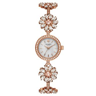Kate Spade Daisy Ladies' Rose Gold-Tone Bracelet Watch - Product number 8046425