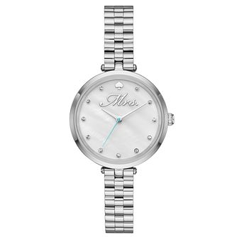 Kate Spade Holland Ladies' Stainless Steel Bracelet Watch - Product number 8046433