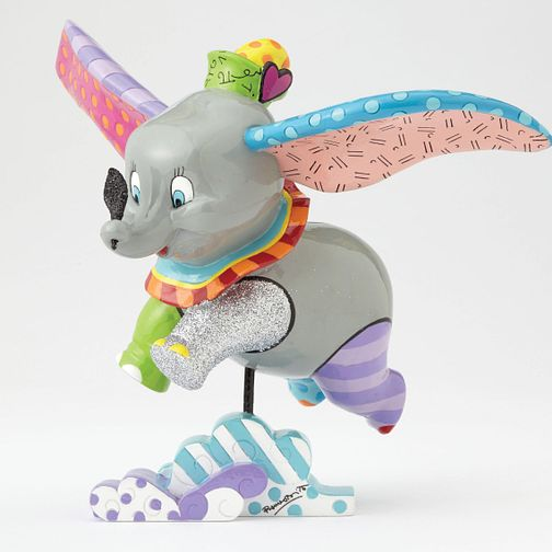 Disney Britto Flying Dumbo Figurine - Product number 8046514