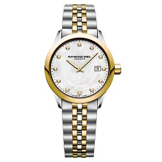 Raymond Weil Freelancer Ladies' Two-Tone Bracelet Watch - Product number 8047006