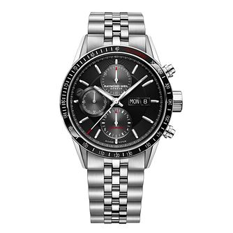 Raymond Weil Freelancer Men's Stainless Steel Bracelet Watch - Product number 8047049
