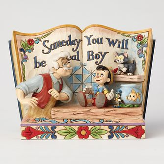 Disney Traditions Pinocchio Storybook Figurine - Product number 8048673