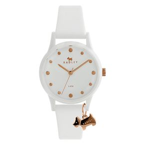 Radley London Watch It! Ladies' White Silicone Strap Watch - Product number 8048703