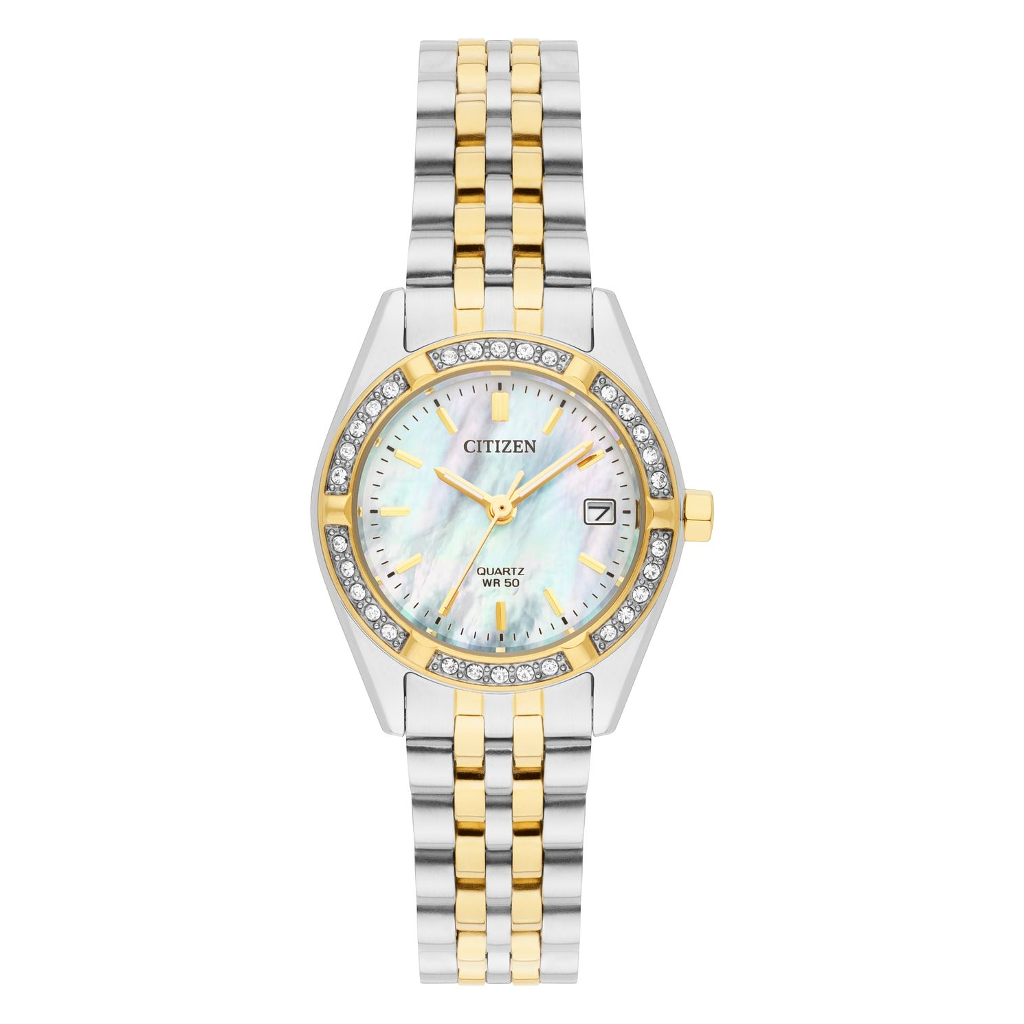 Citizen Ladies' Two Tone Stainless Steel Bracelet Watch - Product number 8048746