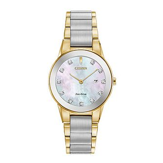 Citizen Axiom Eco-Drive Ladies' Steel Bracelet Watch - Product number 8048754