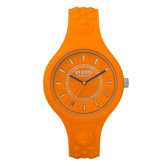 Versus Versace Fire Island Bicolor Silicone Strap Watch - Product number 8049246