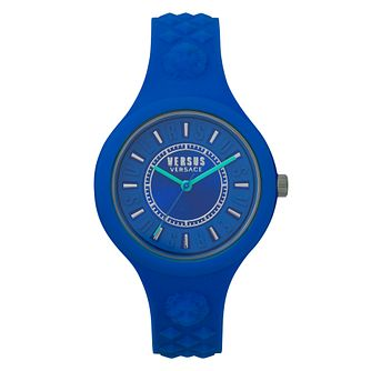 Versus Versace Fire Island Bicolor Silicone Strap Watch - Product number 8049254