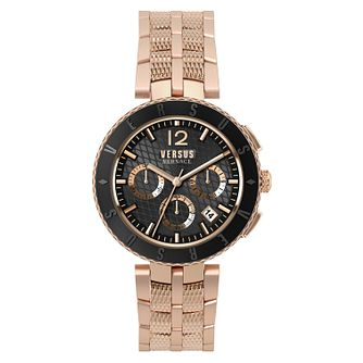 Versus Versace Men's Rose Gold Tone Bracelet Watch - Product number 8049394