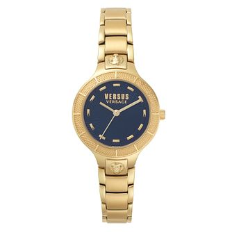 Versus Versace Claremont Ladies' Gold Stainless Steel Watch - Product number 8049890