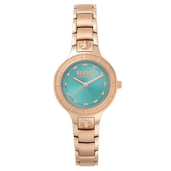 Versus Versace Claremont Ladies' Rose Gold Bracelet Watch - Product number 8049904