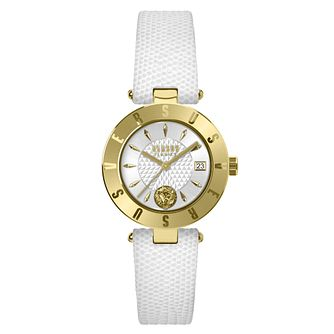 Versus Versace Ladies' White Leather Strap Watch - Product number 8050260