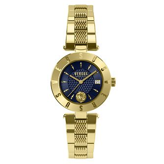 Versus Versace Ladies' Gold Plated Bracelet Watch - Product number 8050325