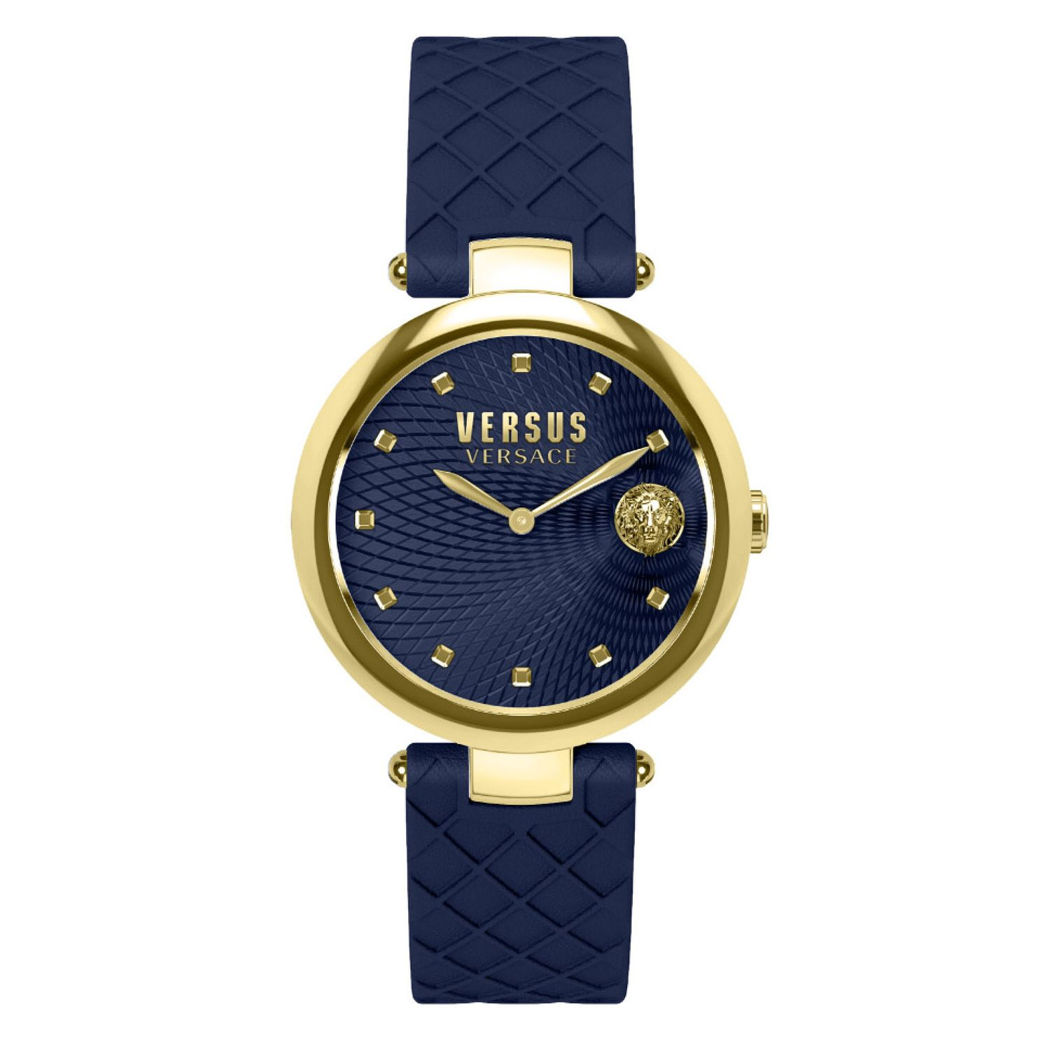 Versus Versace Buffle Bay Ladies' Blue Strap Watch - Product number 8050384