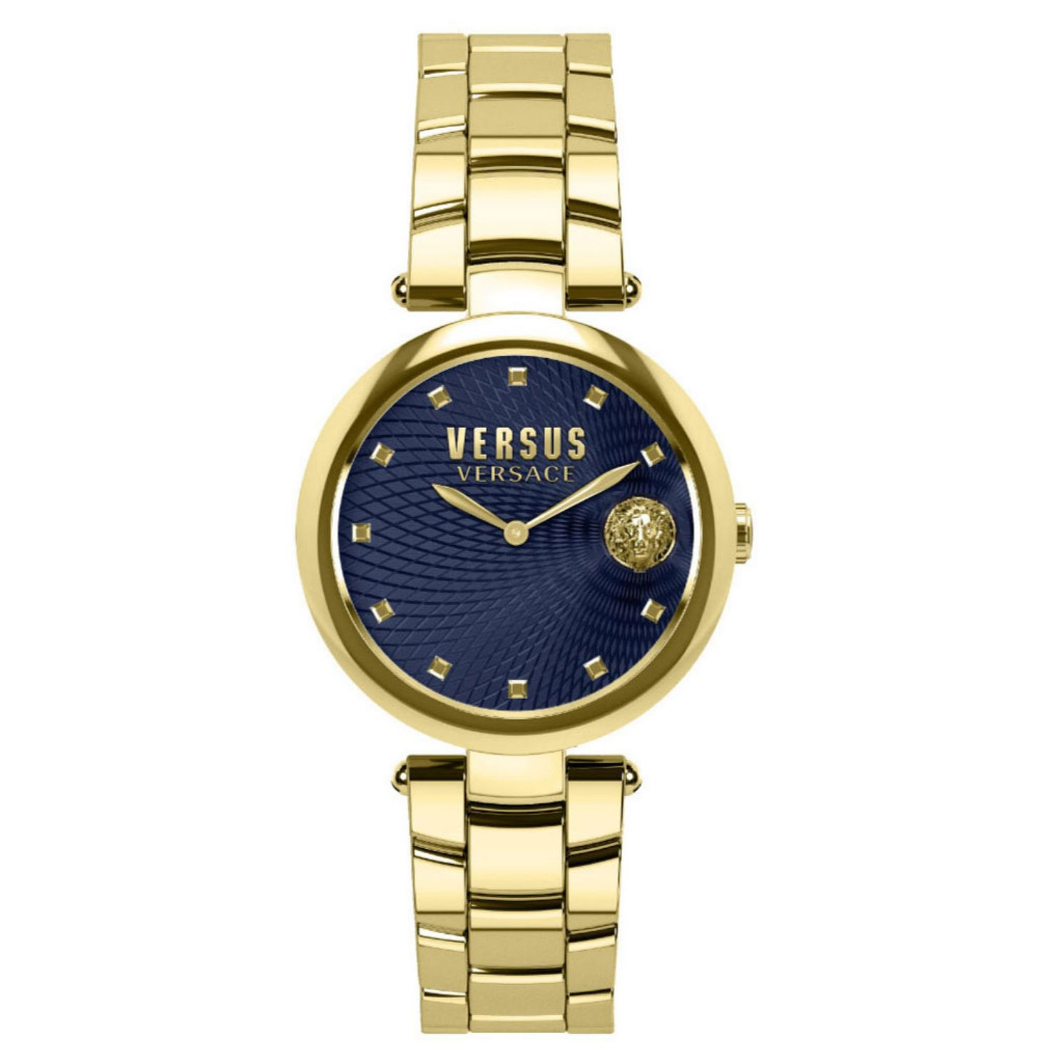Versus Versace Buffle Bay Gold Plated Bracelet Watch - Product number 8050430