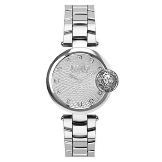 Versus Versace Buffle Bay Ladies' Silver Dial Bracelet Watch - Product number 8050449