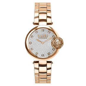 Versus Versace Buffle Bay Ladies' Rose Gold Bracelet Watch - Product number 8050481