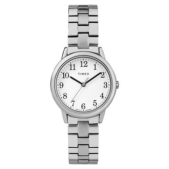 Timex Ladies' Easy Reader Stainless Steel Bracelet Watch - Product number 8050759