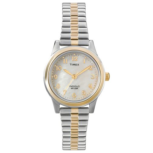 Timex Ladies' Stainless Steel Expandable Band Watch - Product number 8051984