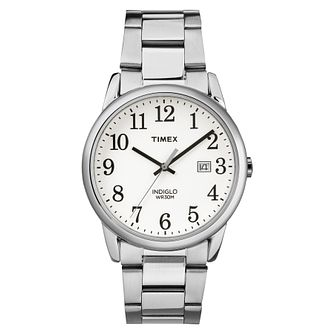 Timex Men's Easy Reader Stainless Steel Bracelet Watch - Product number 8053766