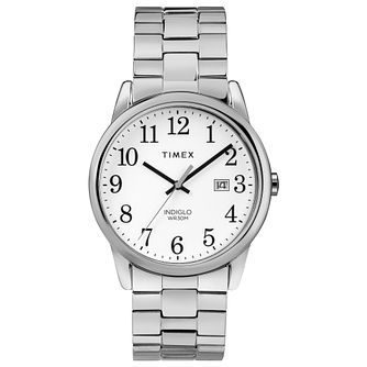 Timex Men's Easy Reader Stainless Steel Bracelet Watch - Product number 8054215
