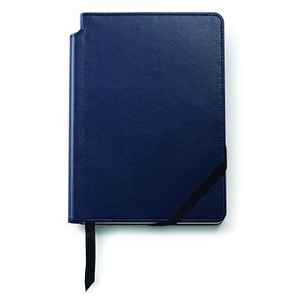 Cross Classic Medium Blue Leather Journal - Product number 8055300