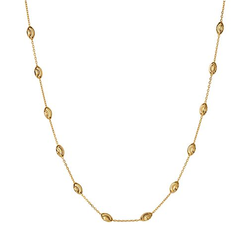 Links of London Essentials Yellow Gold Plated Necklace - Product number 8056285