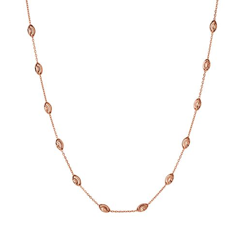 Links of London Essentials Rose Gold Plated Beaded Chain - Product number 8056315