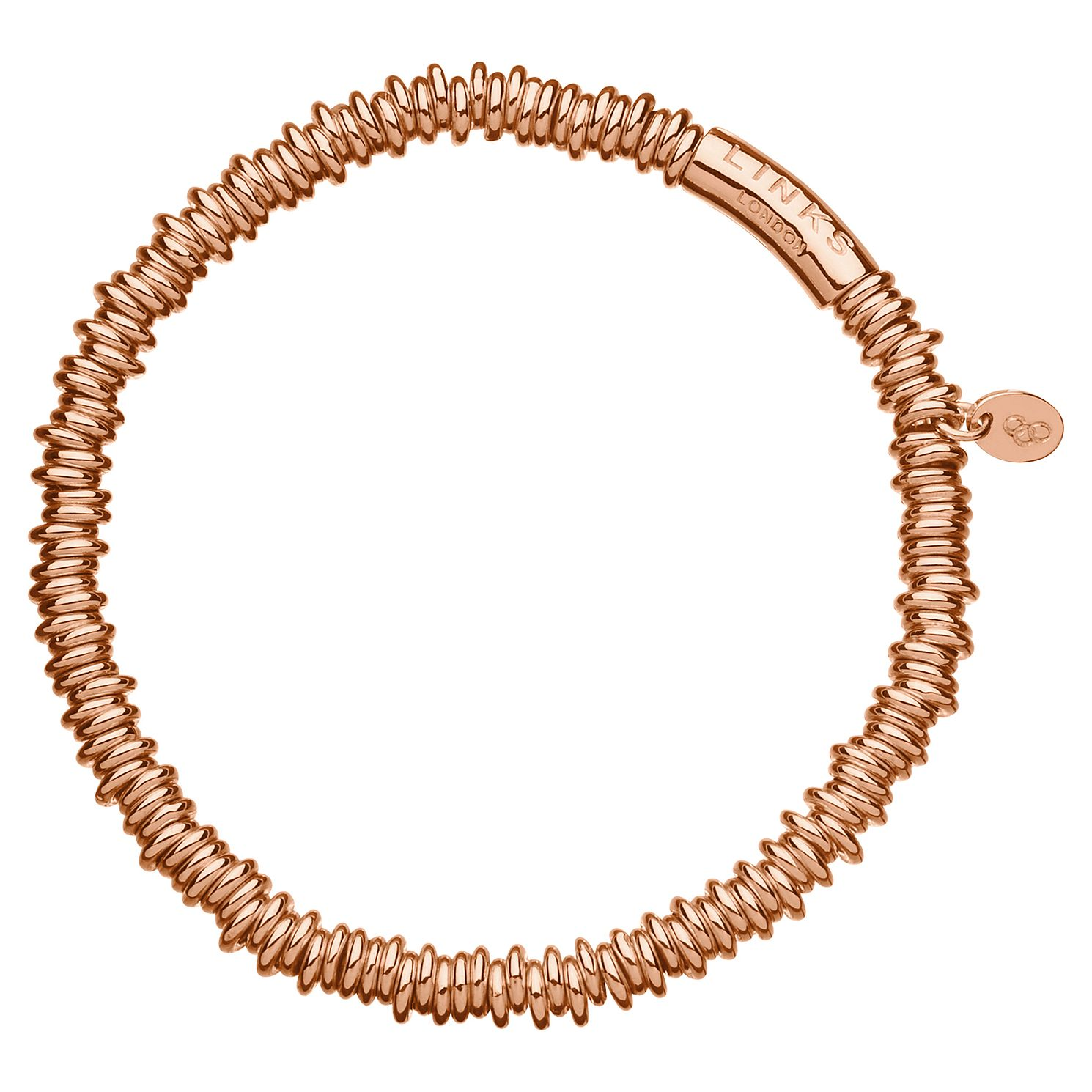 Links Of London Sweetie Rose Gold Plated Bracelet Xs - Product number 8056447