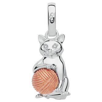Links of London Pet Cat Ladies Rose Gold Plated Silver Charm - Product number 8056617