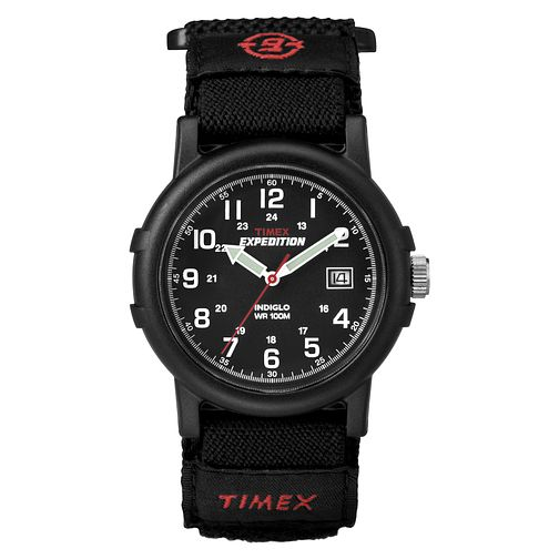 Timex Expedition Men's Black Dial Black Strap Watch - Product number 8057834