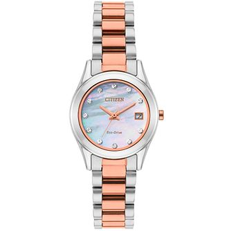 Citizen Eco-Drive Ladies' Two-Tone Bracelet Watch - Product number 8061114
