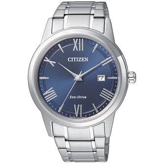 Citizen Eco-Drive Men's Stainless Steel Bracelet Watch - Product number 8061122