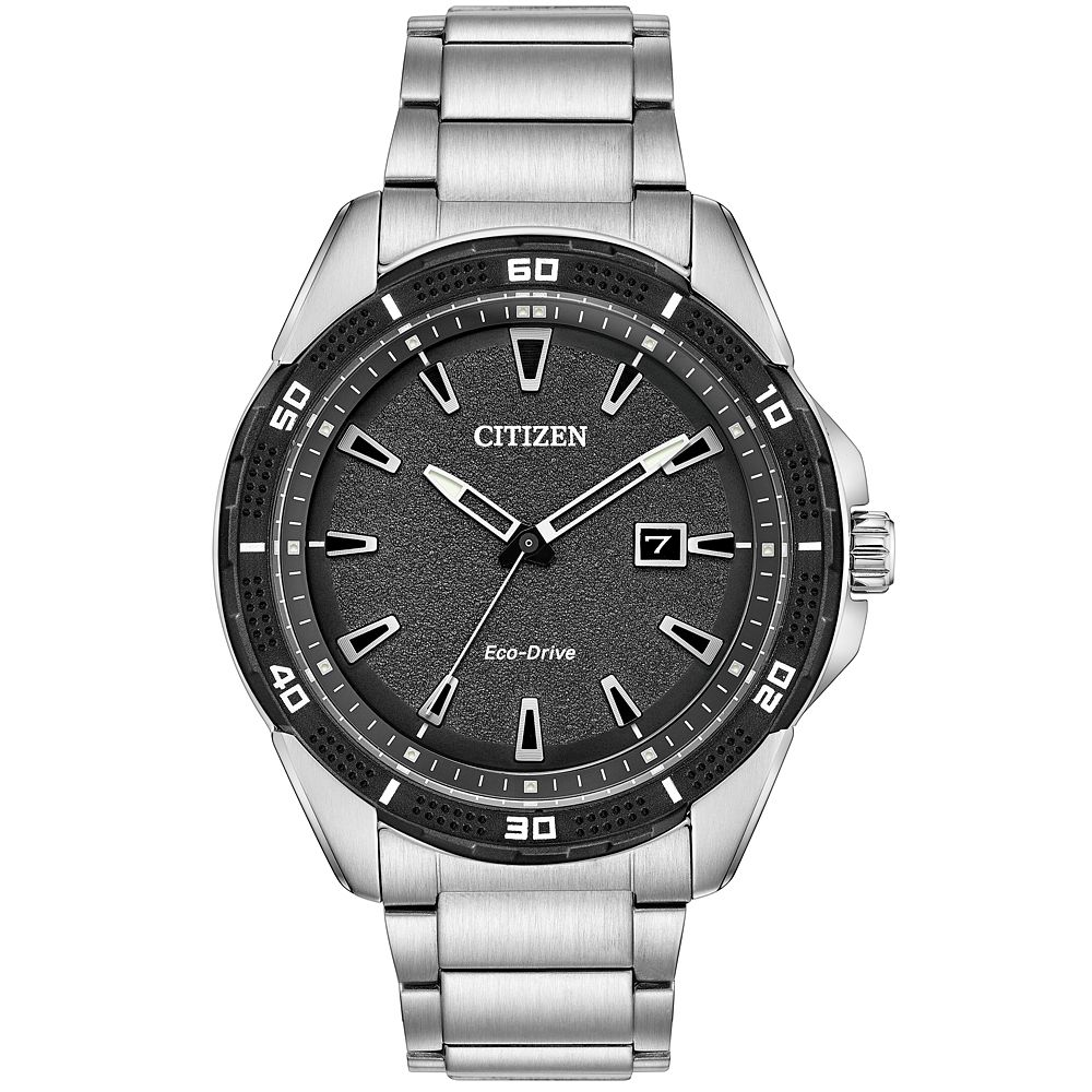Citizen Eco-Drive Men's Stainless Steel Bracelet Watch - Product number 8061157