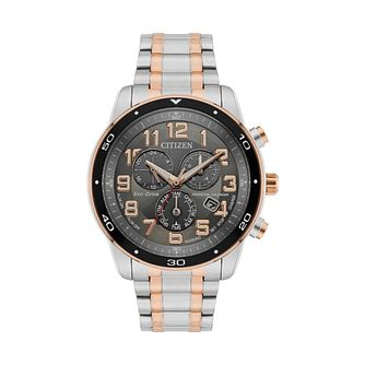 Citizen Eco-Drive Men's Two Tone Bracelet Watch - Product number 8061165