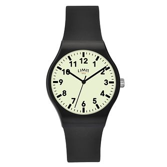 Limit Men's Black Silicone Strap Watch - Product number 8061173