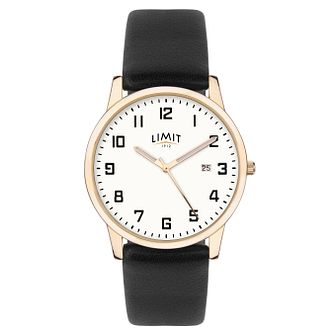 Limit Men's Black Strap Watch - Product number 8061238