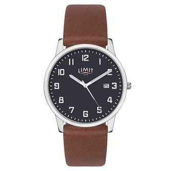 Limit Men's Tan Strap Watch - Product number 8061246