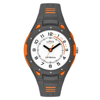 Limit Men's Grey Plastic Strap Watch - Product number 8061254