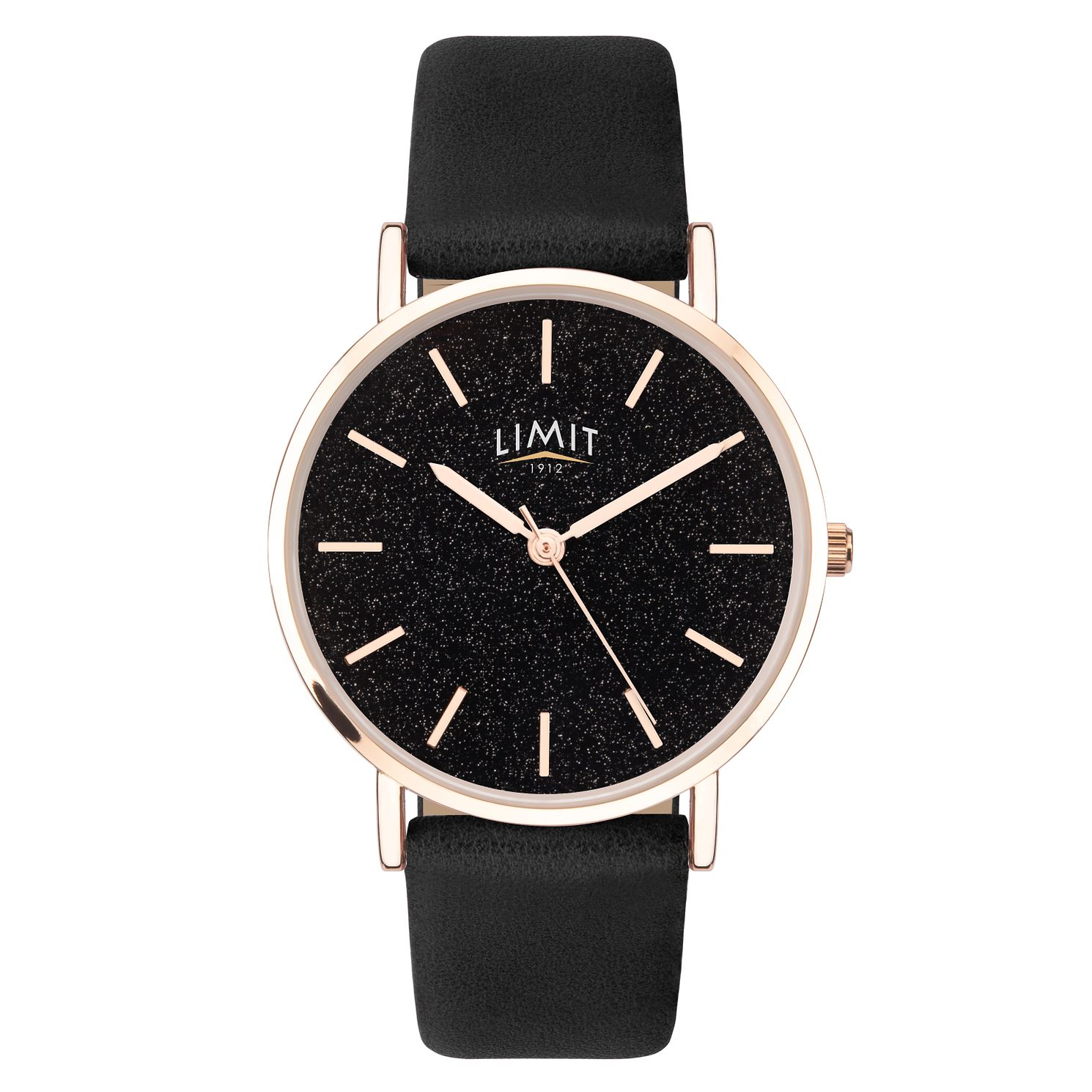 Limit Ladies' Black Strap Watch - Product number 8061300